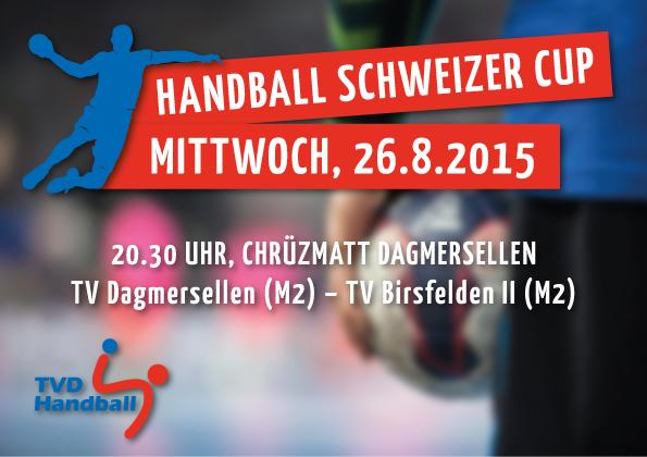 Handball Schweizer Cup TV Dagmersellen M2