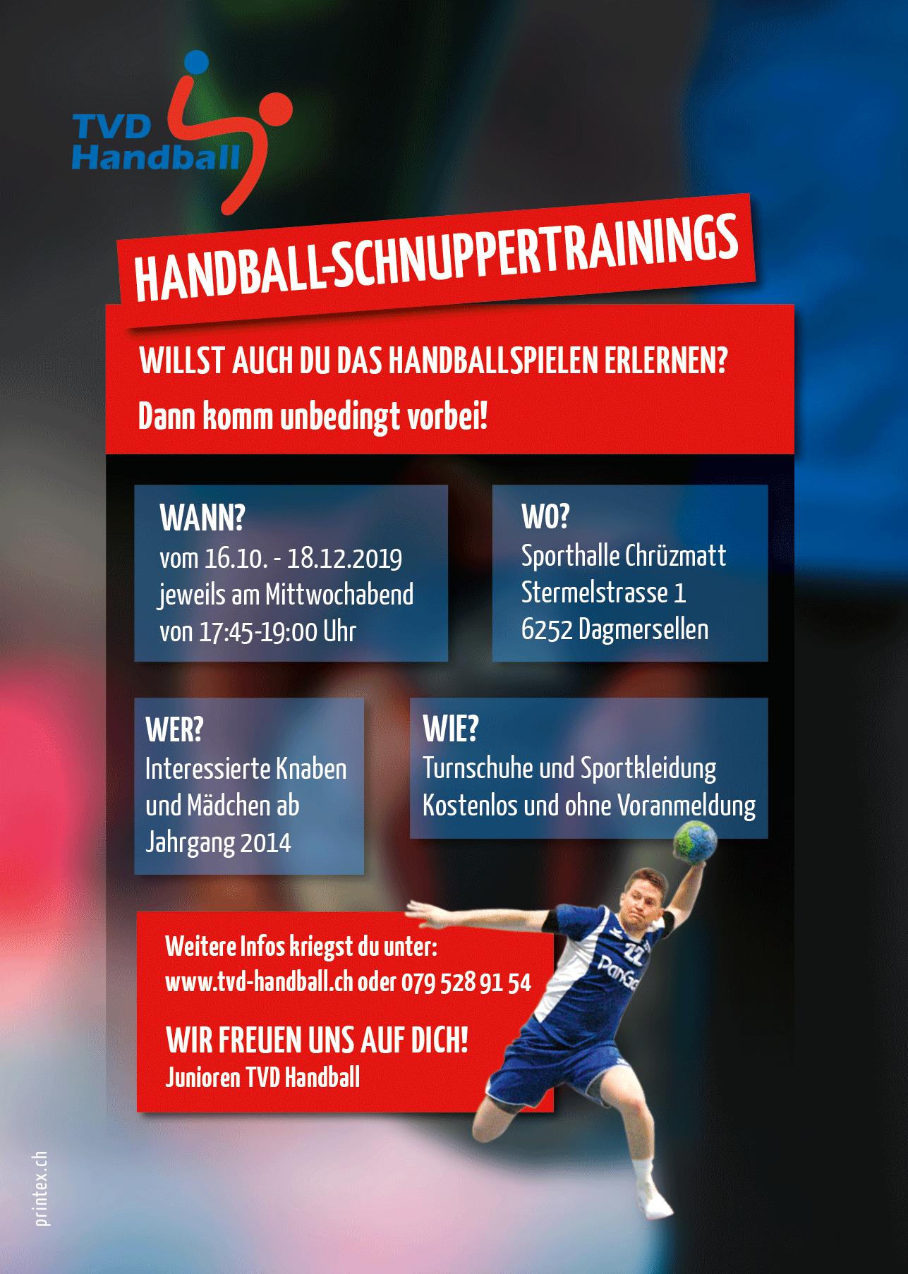Lust auf Handball?